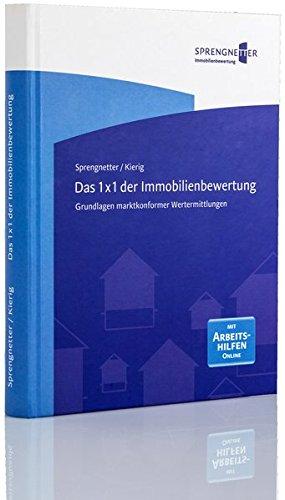 Das 1 x 1 der Immobilienbewertung: Grundlagen marktkonformer Wertermittlungen