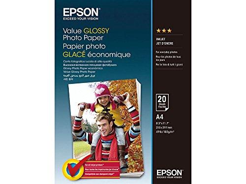 Epson C13S400035 Fotopapier, A4, 20 Blatt