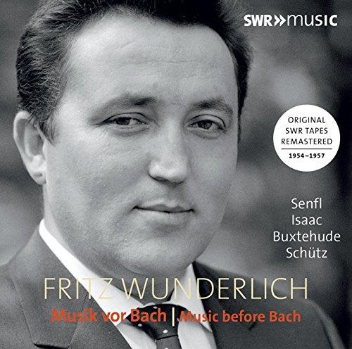 Wunderlich: Musik vor Bach