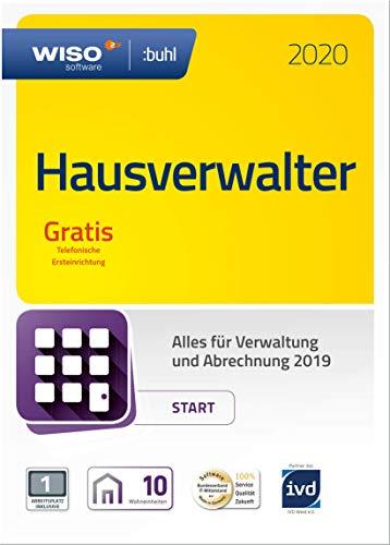 WISO Hausverwalter 2020 Start - Modernes Mieter-Management für bis zu 10 Wohnungen (Frustfreie Verpackung)